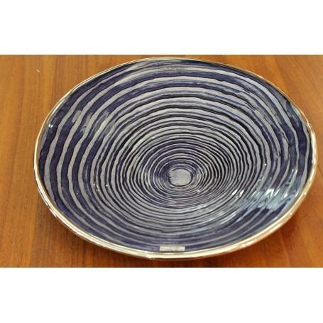 Dogale blue enamel dish
