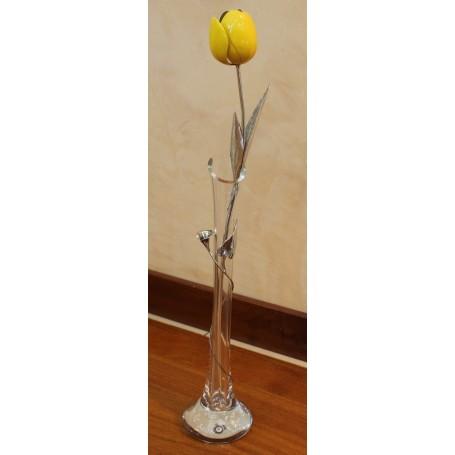 Opera Tulip yellow enamel