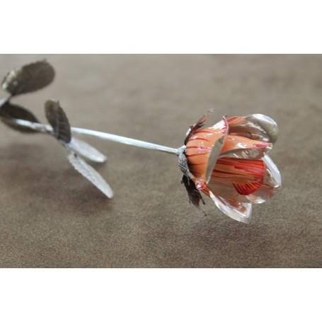 Silver flower work
