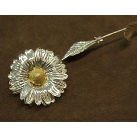 Silver Daisy big Opera
