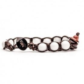 Tamashii white agate bracelet BHS900/14