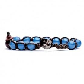 Tamashii BHS900 blue agate bracelet/18