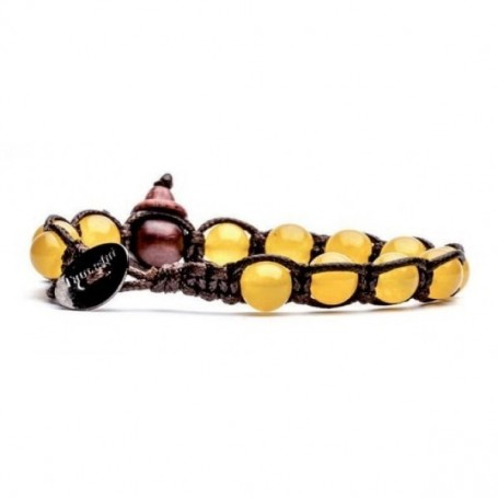 Tamashii yellow agate bracelet BHS900/62