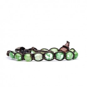 Tamashii bracciale agata verde spaccata BHS900/74