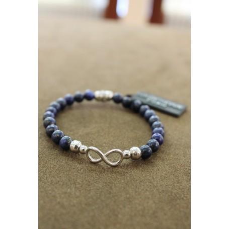 M.c. Sterling silver bracelet G2415