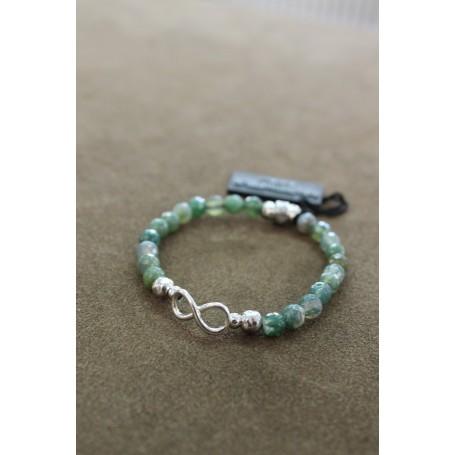 M.c. Sterling silver bracelet G2416