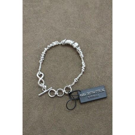 M.c. Sterling silver bracelet G1562