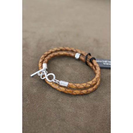 M.c. Sterling silver bracelet G1470