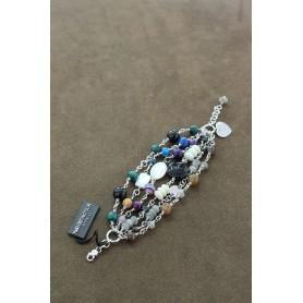 M.c. Sterling silver bracelet B1651