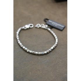 M.c. Sterling silver bracelet MU0172