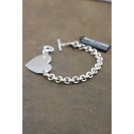 M.c. Sterling silver bracelet B2306