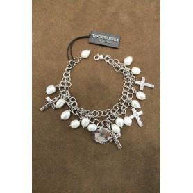 M.c. Sterling silver bracelet B1780