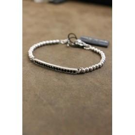 M.c. Sterling silver bracelet G1575