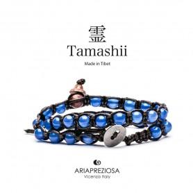 Tamashii blue agate bracelet BHS600-18