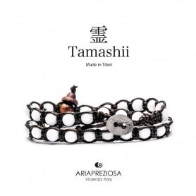 Tamashii white agate bracelet BHS600-14