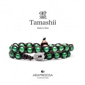 Tamashii green agate bracelet BHS600-12