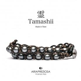 Tamashii BHS600-71 matt Hematite bracelet