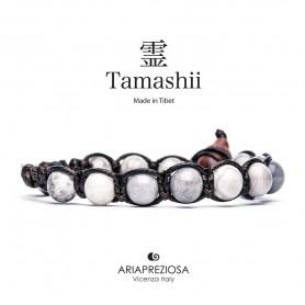 Tamashii white Jasper bracelet BHS900/103