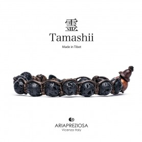 Tamashii bracciale lava nera BHS900/98