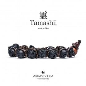 Tamashii Браслет черный Лава BHS900/98