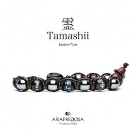 Tamashii BHS200/22 Hematite bracelet mantra