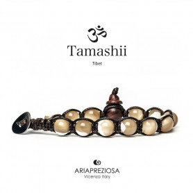 Tamashii bracciale madreperla marrone BHS900/39B