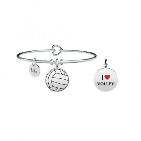 Kidult bracciale rigido I Love Volley - 731293