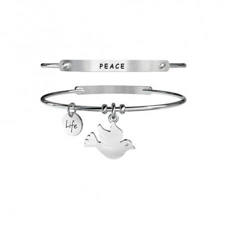 Kidult bracciale rigido Colomba|Pace - 231634