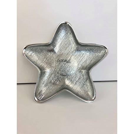 Dogale ciotolina a stella media argentata | 51.36.8011