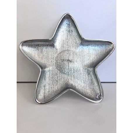 Dogale ciotolina a stella grande argentata | 51.36.8111
