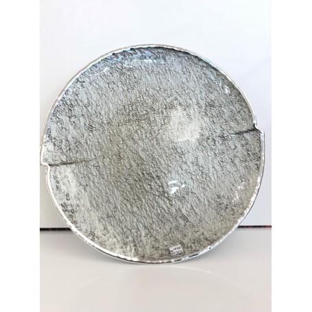 Dogale piatto smaltato argento |  51.36.1406
