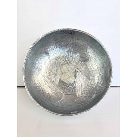 Dogale ciotola tonda smaltata argento| 51.35.0300