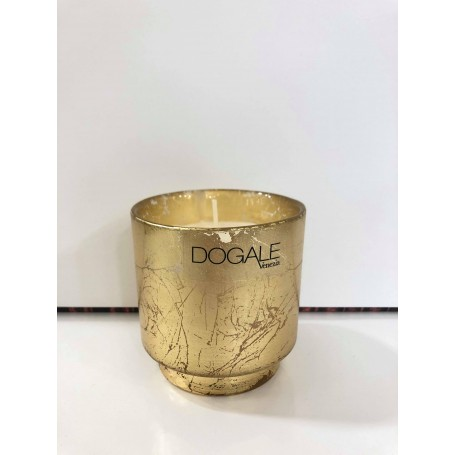 Dogale candela profumata in cristallo dorato| 51.30.9515