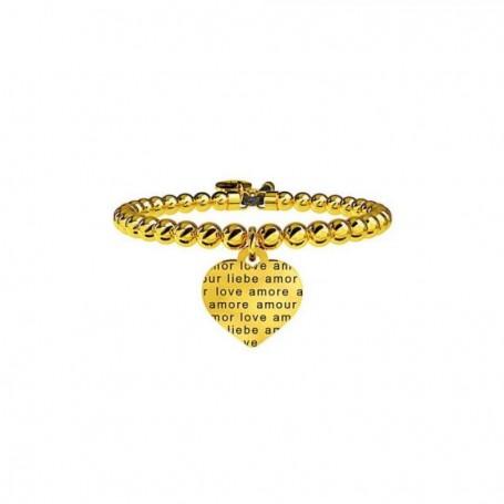 Kidult bracciale pvd dorato Cuore|Amore senza confini - 231542