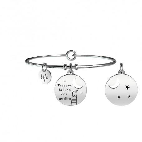Kidult bracciale rigido Luna|Felicità - 231657
