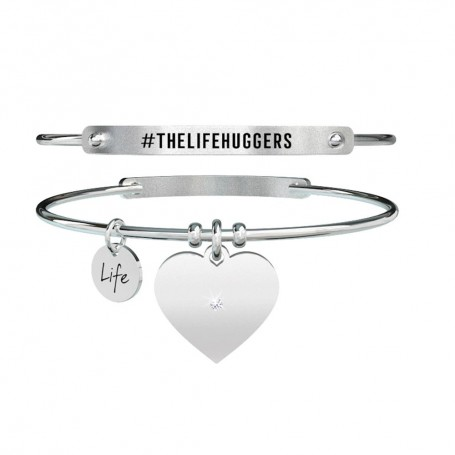 Kidult bracciale rigido Cuore|TheLifeHuggers - 731453