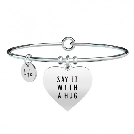 Kidult bracciale rigido Cuore|Say it with a hug - 731367