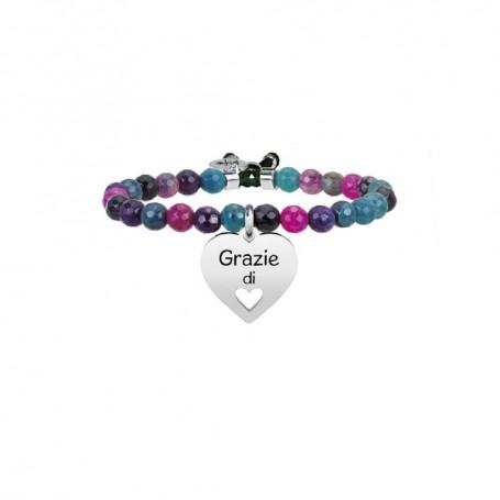 Kidult bracciale rigido Cuore Grazie - 731332