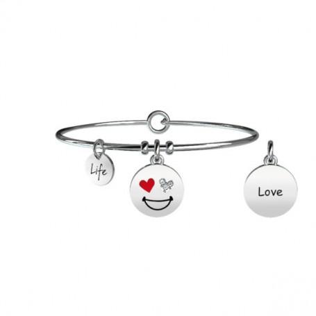 Kidult bracciale rigido LOVE collezione LIFE Symbols - 231677