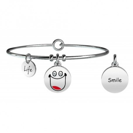 Kidult bracciale rigido SMILE collezione LIFE Symbols - 231675