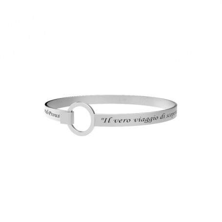 Kidult bracciale rigido in acciaio collezione LIFE Philosophy | 231716