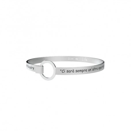 Kidult bracciale rigido in acciaio collezione LIFE Philosophy   231688