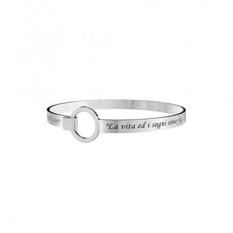 Kidult bracciale rigido in acciaio collezione LIFE Philosophy | 231698