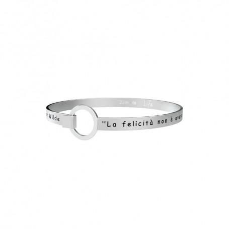Kidult bracciale rigido in acciaio collezione LIFE Philosophy | 231700