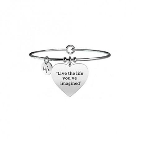 Kidult bracciale rigido in acciaio collezione LIFE Philosophy | 731253