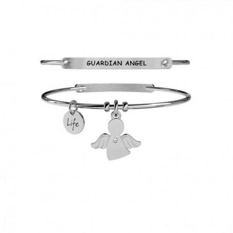 Kidult bracciale rigido in acciaio Angelo|Protezione collezione LIFE Spirituality | 231669