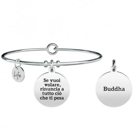 Kidult bracciale rigido in acciaio collezione LIFE Spirituality| 731303
