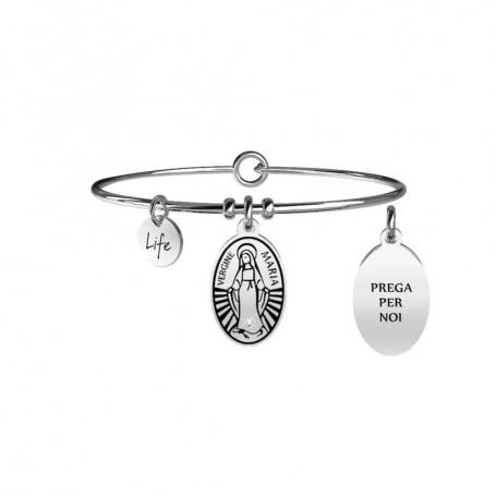 Kidult bracciale rigido in acciaio Maria Vergine|Protezione collezione LIFE Spirituality | 731060