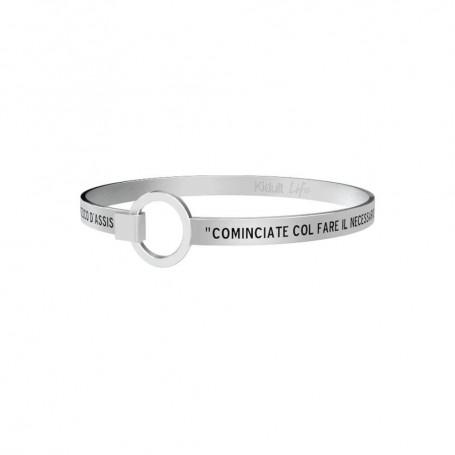 Kidult bracciale rigido in acciaio collezione LIFE Spirituality | 731117