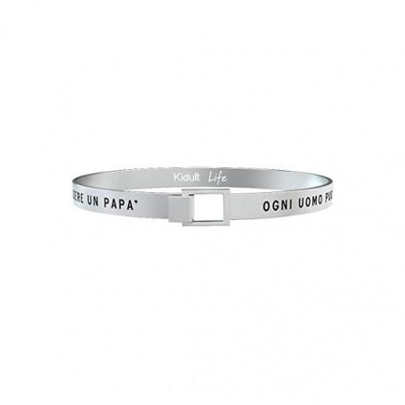 Kidult bracciale rigido in acciaio DAD|PAPA' collezione LIFE Family | 731207
